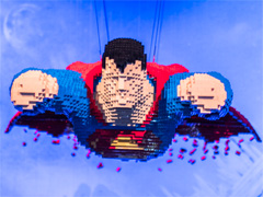 The Art of the Brick: DC Super Heroes image