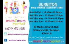 Surbiton mum2mum Childrens Nearly New Sale image
