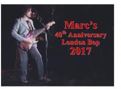 Marc Bolan and T.Rex London Bop 2017! image