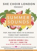 SHE Choir Presents: Summer Sounds image