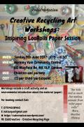 Creative Recycling Art Workshop - Loo-Rolls Paper Session image
