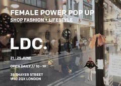 Female Power Pop Up // Shop Fashion + Lifestyle // Presented by LDC image