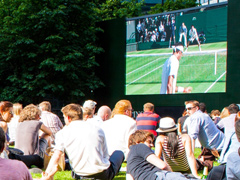 Summer Screens at Canary Wharf image