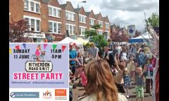 The Ritherdon Road Street Party image
