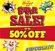 Hamleys Super Sale - Up to 50% off on selected lines! image
