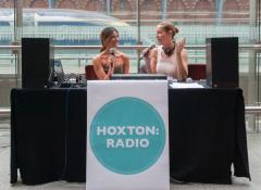 Hoxton Radio live from St Pancras image