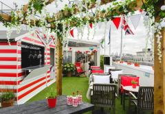 The Pimm's Wimbledon Bar at Selfridges Roof Deck image