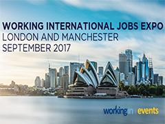 Working International Jobs Expo – London image