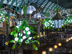 Covent Garden Christmas Lights Switch On image