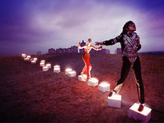 Michael Jackson: On The Wall image
