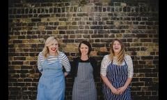 Craft London hosts Three Girls Cook for a series of 'Black and White' themed supper clubs image