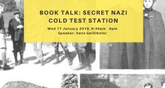 Book Talk: Secret Nazi Cold Test Station image