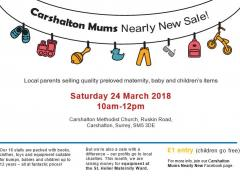 Carshalton Mums Nearly New sale image