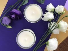 Scented candle & bouquet making workshop image