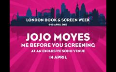 Me Before You: A special screening with Jojo Moyes image