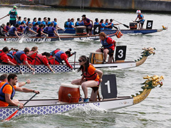 London Hong Kong Dragon Boat Festival 2019 image
