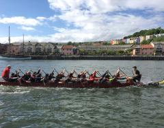 Learn how to race a dragon boat image