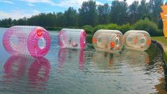 Canal Zorbing at Merchant Square image