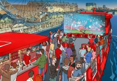 Watch the World Cup this Summer on the Bud Boat! image