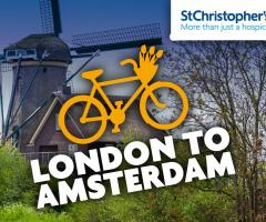 London To Amsterdam Cycle Challenge image