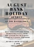 Bank Holiday Sunday - Meet our suppliers image