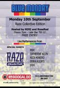Blue Monday Live Music Night - Raze Collective Edition image