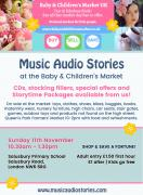 Music Audio Stories at the Baby & Children's Market UK image