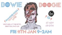 Bowie's Birthday Boogie & Diamond Dogs played LIVE in full image