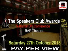 The Speakers Club Awards 2018 image