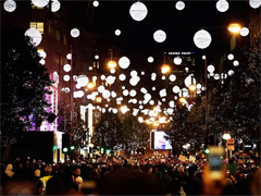 Oxford Street Christmas Lights Switch On image