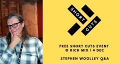 SHORT CUTS Awards Night + Christmas Party with Stephen Woolley image