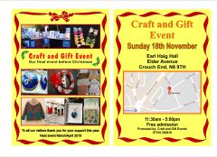 Christmas Craft and Gift Event - Crouch End London N8 image