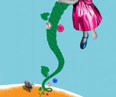 Cinderella and the Beanstalk image