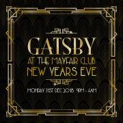 Great Gatsby New Year's Eve Party 2018 at The Mayfair Club image