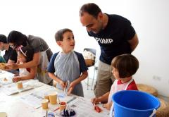 Sunday Family Workshop: Scratching The Surface · With Artist Educator Flora Duley image