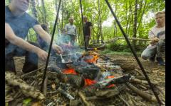 Wellness Weekend: Woodland crafts & Campfire cooking image
