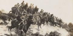 Behind the scenes: British cavalry and the Western Front image