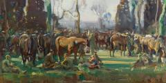 Curator tour: Alfred Munnings image