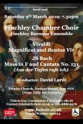 Bach and Vivaldi with Finchley Chamber Choir image
