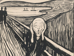 Edvard Munch - Love and Angst image
