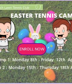 Tennis Camp- Half Term - Easter  2019 image