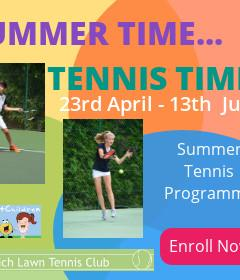 Summer Tennis Term image