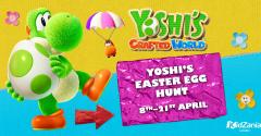 Yoshi's Crafted World Easter Egg Hunt image