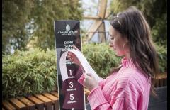 Swap Smartphone Scrolling For Bite-Size Reads With Canary Wharf's Short Story Stations image