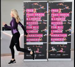 London Stansted offer free Fastrack and Lounge access for London Marathon runners image