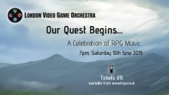 The London Video Game Orchestra - Our Quest Begins image
