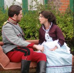 Theatre on the Tea Lawn: Arms and the Man image