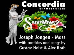 A Mass for Midsummer - Concordia Chamber Choir with music by Jongen, Roth and Holst image