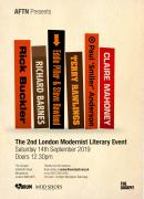 The 2nd London Modernist Literary Event image