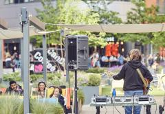 Weekly free live music gigs on the Floating Pocket Park image
